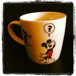 Mickey taza