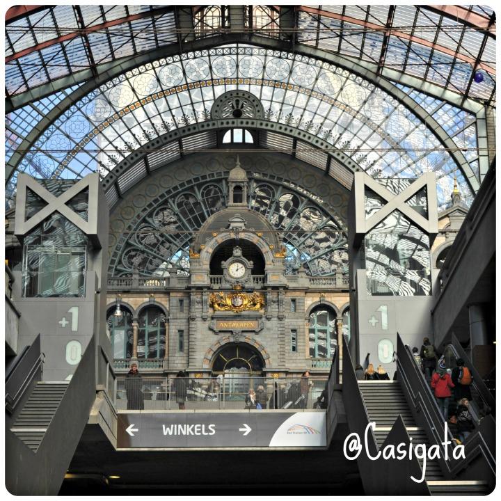 #MM 10 Estacion central de Amberes